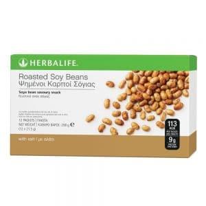 Ψημένοι Καρποί Σόγιας Σνακ Πρωτεΐνης Herbalife