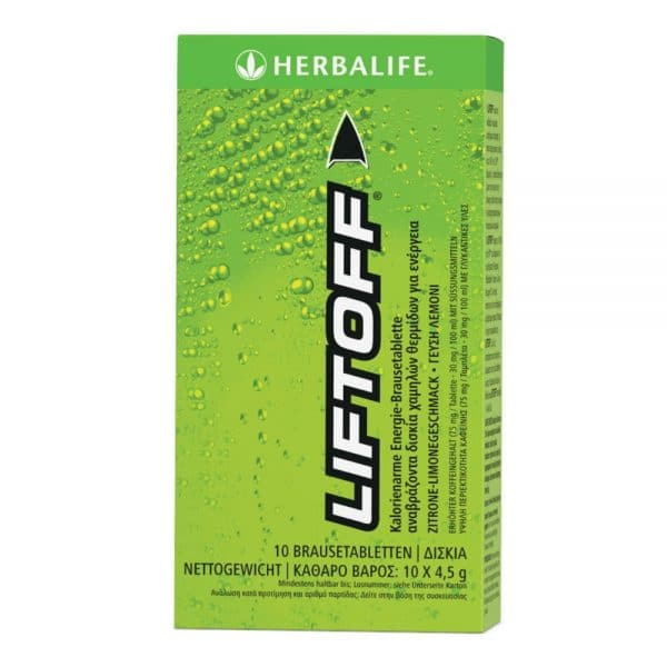 Lift Off® Herbalife Αναβράζον Ενεργειακό Ποτό Λεμόνι