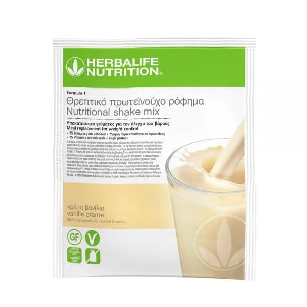 Formula 1 Herbalife Πρωτεϊνούχο Ρόφημα Vanilla Cream