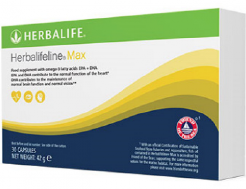 Νέο και Βελτιωμένο – HERBALIFELINE® MAX