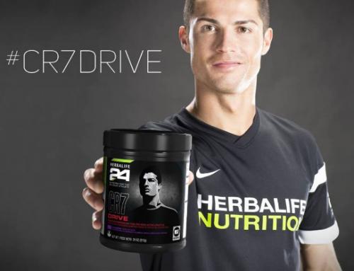 Τι είναι το CR7 drive της Herbalife?