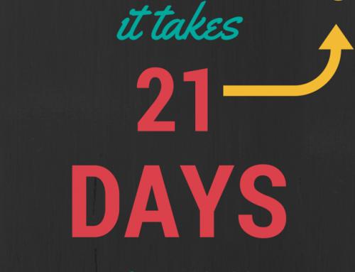 21 ημέρες αρκούν να δεις τα πρώτα αποτελέσματα.