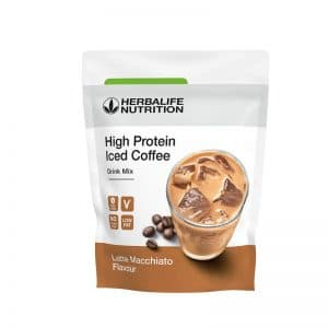 High_Protein_Iced_Coffee_Latte_Macchiato_Herbalife_Nutrition