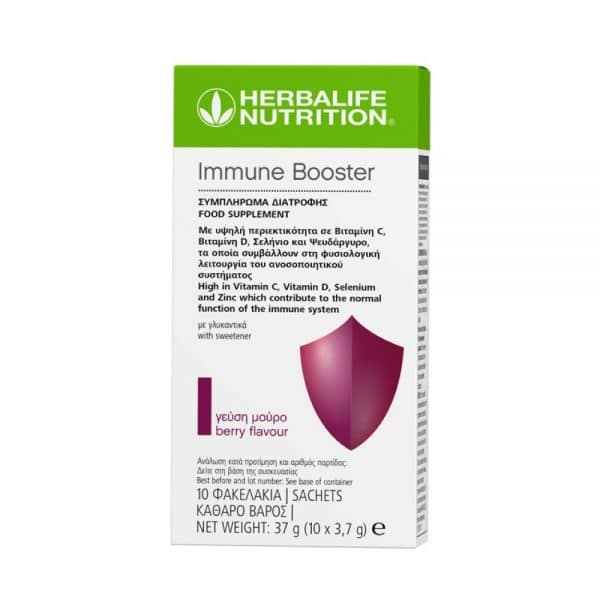 Immune Booster Γεύση Μούρο 10 Φακελάκι